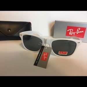 Ray-Ban Accessories - White Ray-Bans sunglasses
